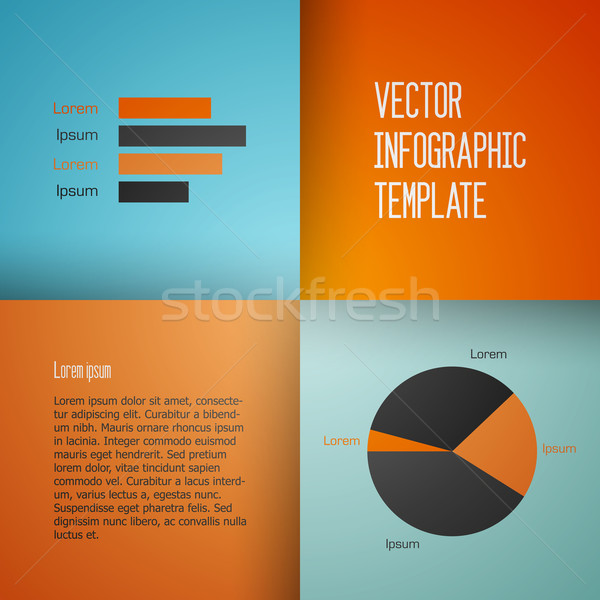 Vector sjabloon schone charts textuur Stockfoto © filip_dokladal