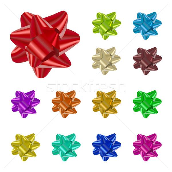 Vecteur ruban isolé propre couleur Photo stock © filip_dokladal