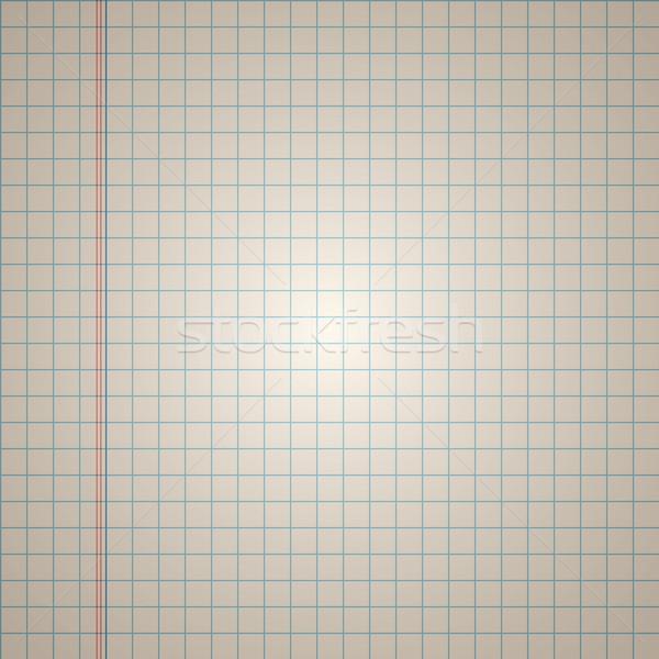 Vector squared paper Stock photo © filip_dokladal