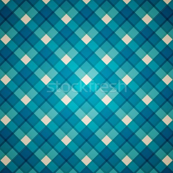 Photo stock: Vecteur · résumé · modèle · bleu · propre
