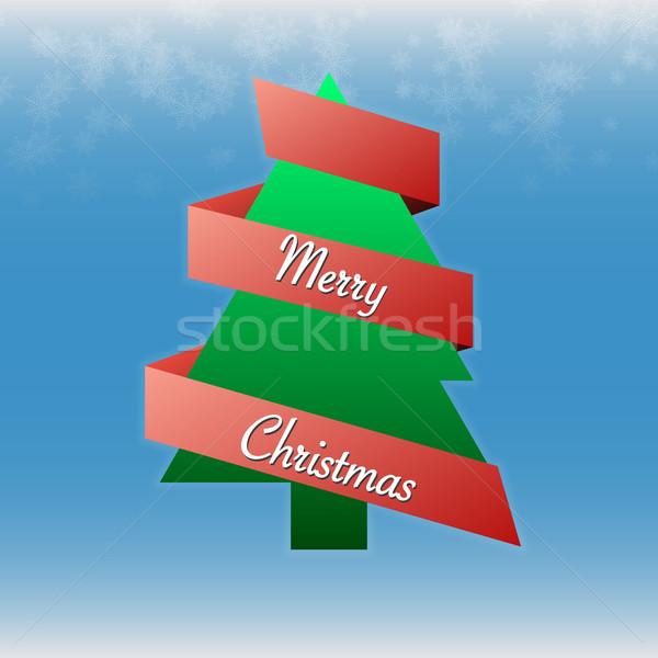 Vector christmas kaart kleur wenskaart Stockfoto © filip_dokladal