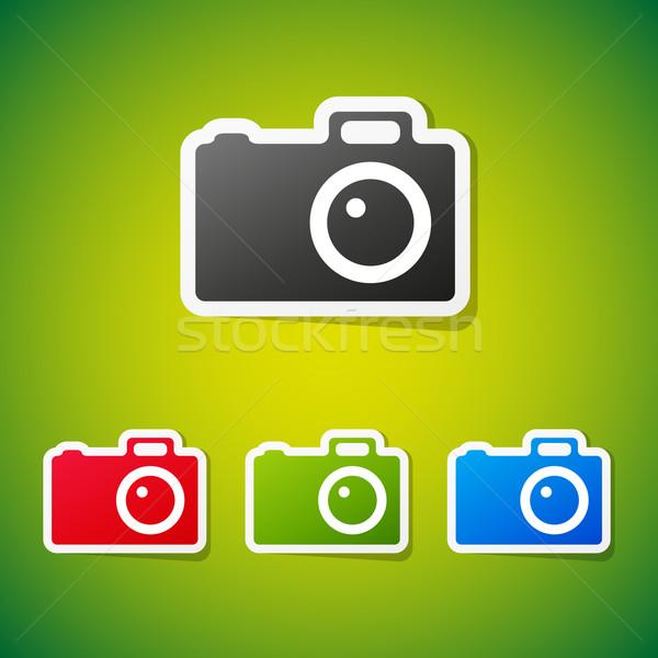 вектора камеры чистой цвета фото Сток-фото © filip_dokladal