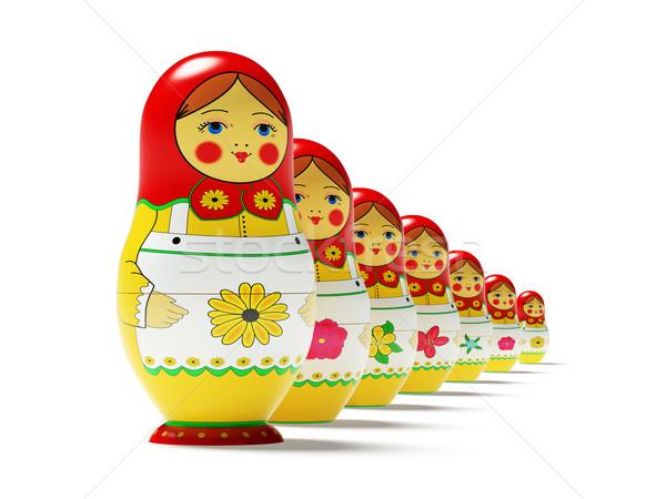 Russian dolls Stock photo © filipok