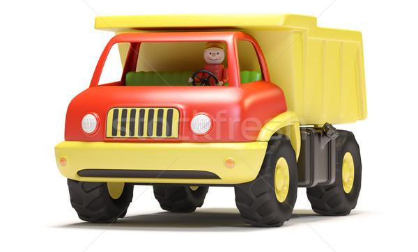Toy truck Stock photo © filipok