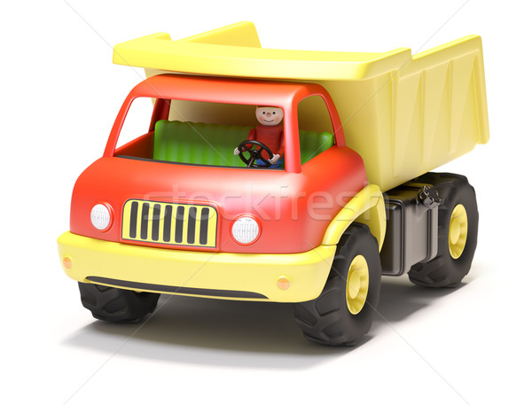 Toy truck Stock photo © filipok