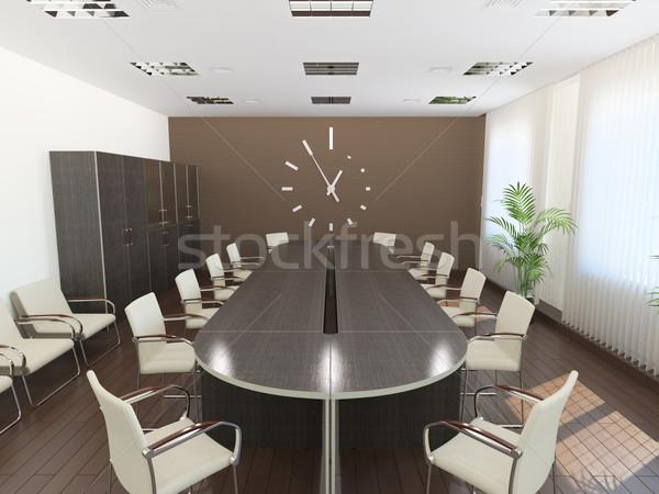 Meeting room Stock photo © filipok