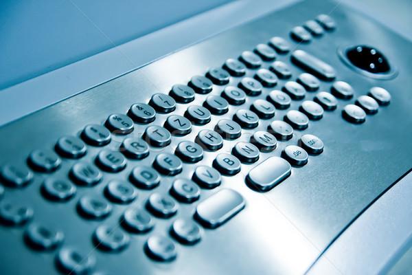 общественного клавиатура металл бизнеса интернет Сток-фото © filmstroem