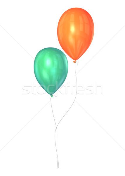 шаров два вечеринка рождения Сток-фото © filmstroem