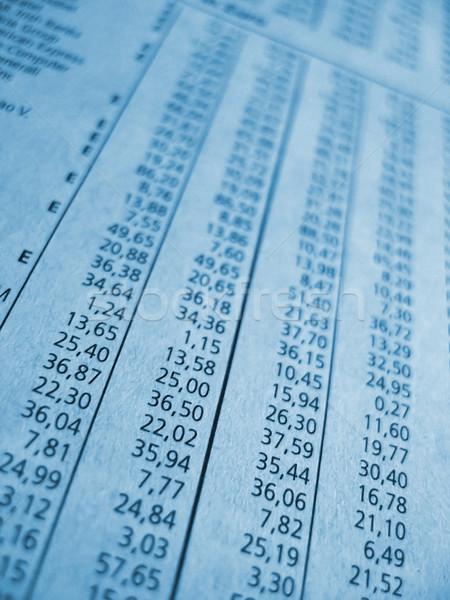 бизнеса номера финансовых газета складе Сток-фото © filmstroem