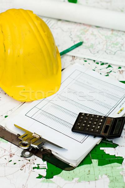 строительство объекты финансовых желтый Сток-фото © filmstroem