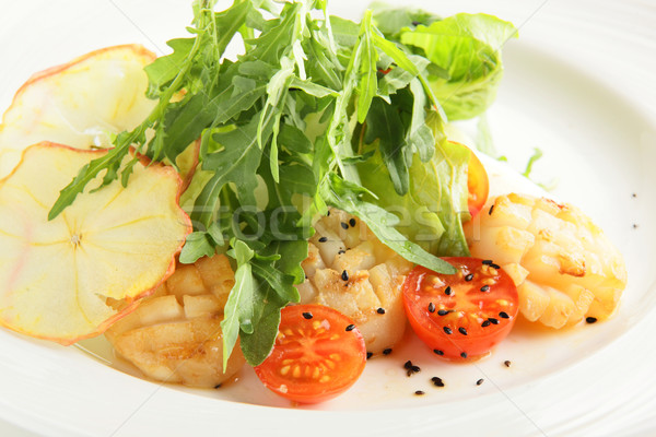 新鮮な おいしい 野菜 サラダ 冷たい ヨーロッパの ストックフォト © fiphoto