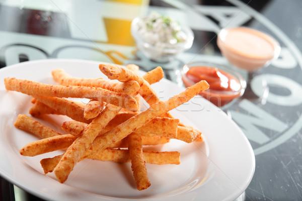 Batata quente saboroso vara restaurante Foto stock © fiphoto