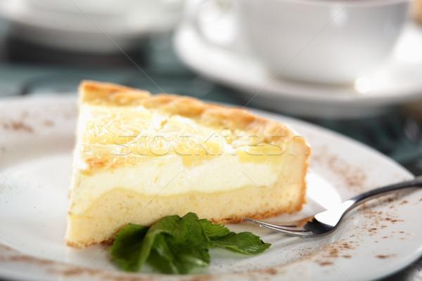 甘い ケーキ 皿 おいしい 食品 チョコレート ストックフォト © fiphoto