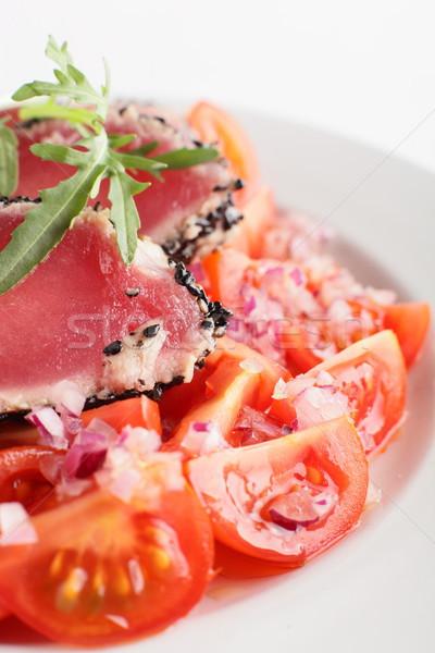 Carne guarnire fresche gustoso alimentare ristorante Foto d'archivio © fiphoto