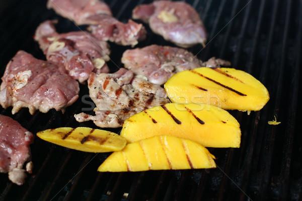 Cozinhar cozinha saboroso comida mão casa Foto stock © fiphoto