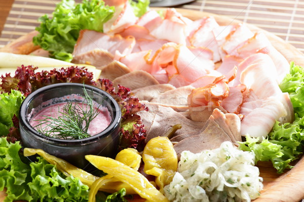 cold cuts Stock photo © fiphoto