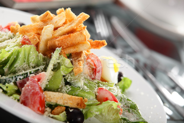 Lezzetli salata sebze taze avrupa farklı Stok fotoğraf © fiphoto