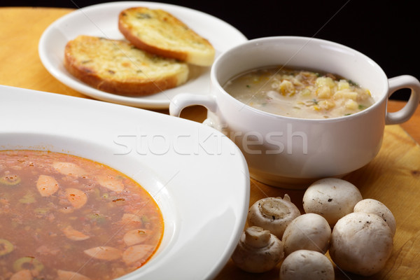おいしい 新鮮な ヨーロッパの スープ ホット 野菜 ストックフォト © fiphoto