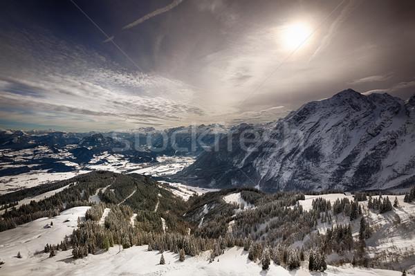 Bavarian Alps, Berchtesgadener Land, Germany Stock photo © fisfra