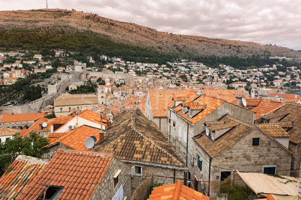 Stock photo: Historic buildings in Dubrovnik, Croatia