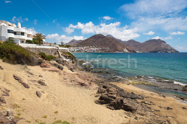 Coastline at Cabo de Gata National Park, Andalusia, Spain Stock photo © fisfra