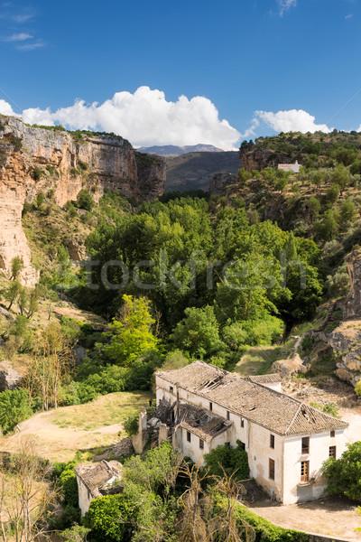 Gorge at Alhama de Granada, Andalusia, Spain Stock photo © fisfra