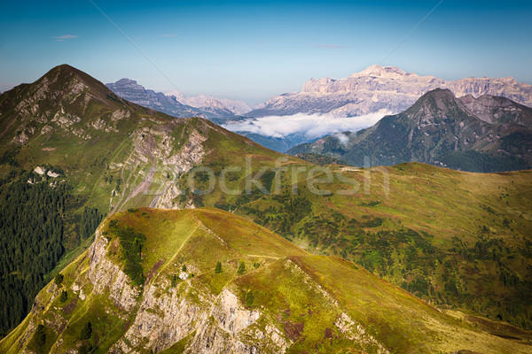 View from Passo Giau, Dolomites, Italian Alps Stock photo © fisfra