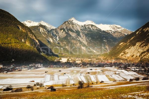 Alpine valley in Tirol, Austria Stock photo © fisfra