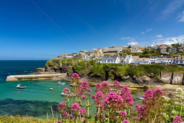 Port port cornwall Angleterre ciel Photo stock © fisfra
