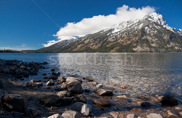 Jenny lake at Grand Teton National Park, Wyoming, USA Stock photo © fisfra