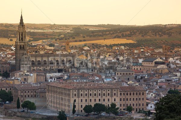 Toledo Cathedral, Spain Stock photo © fisfra