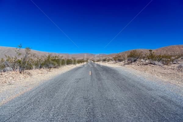 死 谷 エンドレス 道路 車 通り ストックフォト © fisfra
