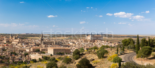 Panorama of Toledo, Spain Stock photo © fisfra
