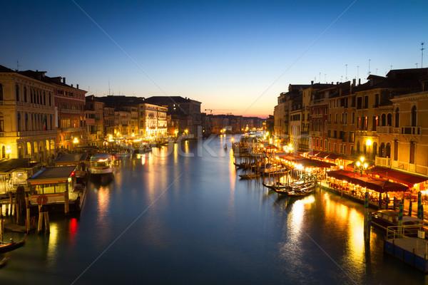 Venezia Italia acqua estate blu Foto d'archivio © fisfra