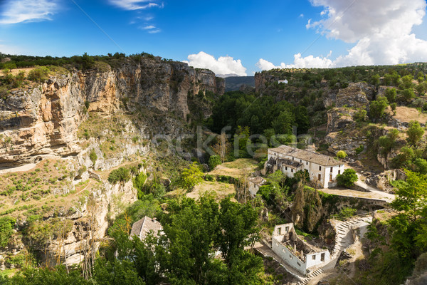 Canyon at Alhama de Granada, Andalusia, Spain Stock photo © fisfra