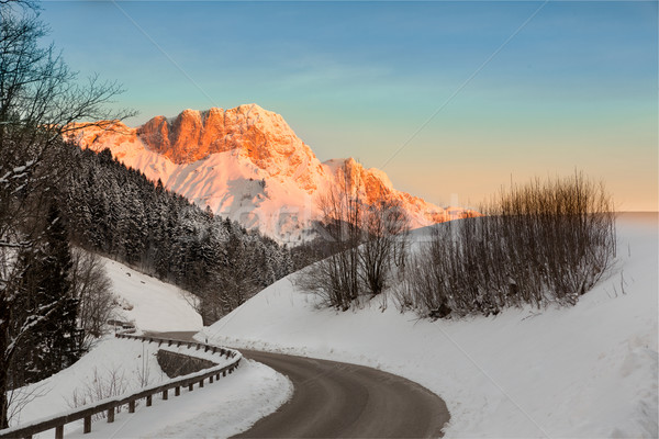 Sunrise in Germany Alps, Berchtesgaden, Bavaria, Germany Stock photo © fisfra