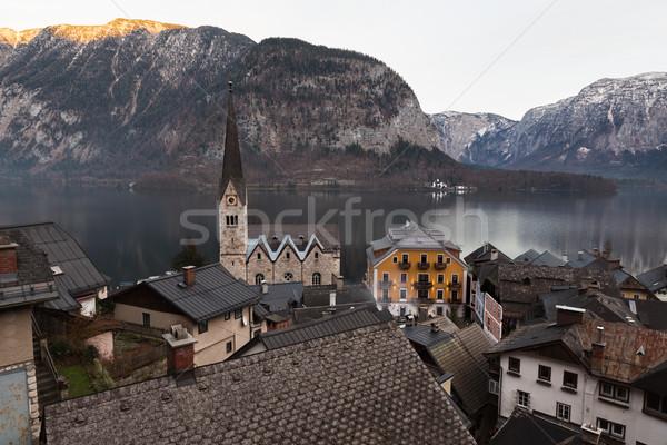 Village of Hallstatt, Salzburger Land, Austria Stock photo © fisfra