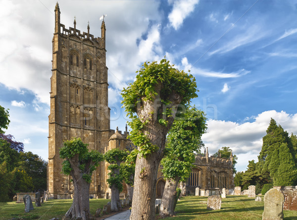 St James church in Chipping Campden, Cotswolds, UK Stock photo © fisfra