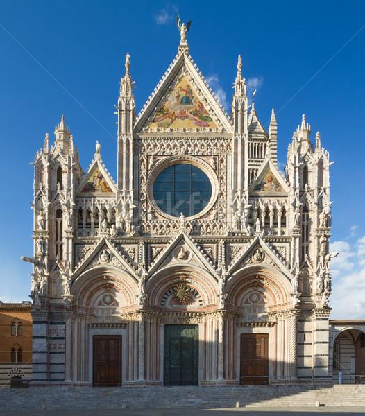 Cathedral of Siena, Tuscany, Italy Stock photo © fisfra
