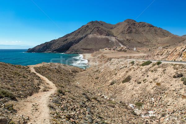 Cove at Cabo del Gata, Almeria, Spain Stock photo © fisfra