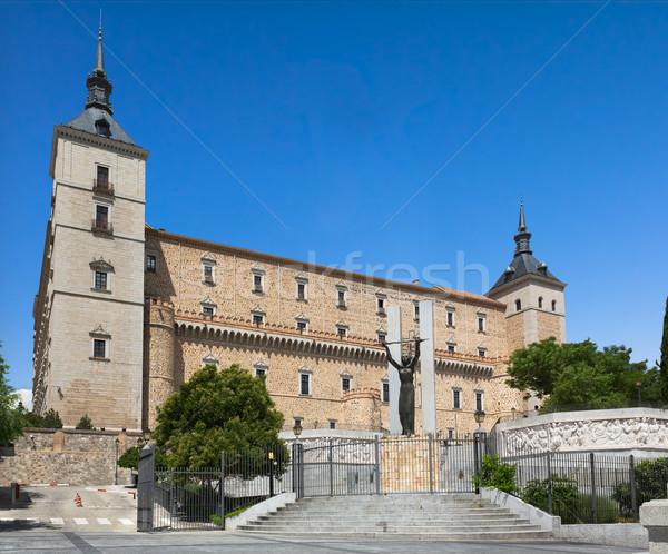 Испания здании лет архитектура культура Сток-фото © fisfra
