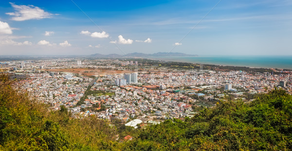 Panoramic view of Vung Tau, Southern Vietnam Stock photo © fisfra