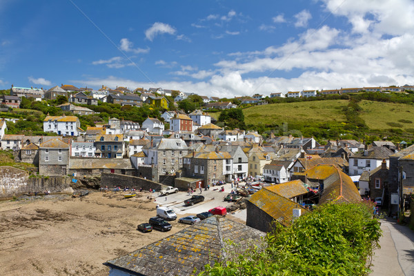 Port port vue cornwall Angleterre ciel Photo stock © fisfra