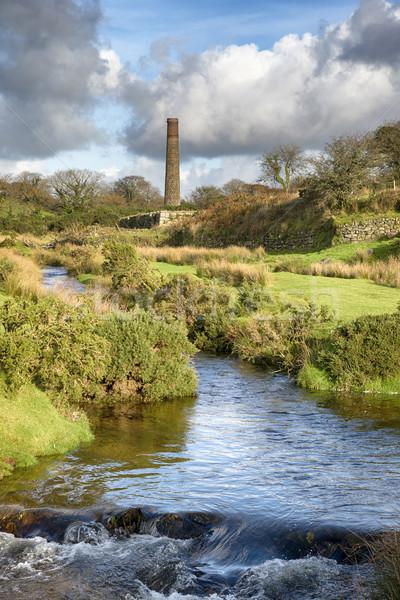 Cornish Tin Mine Stock photo © flotsom