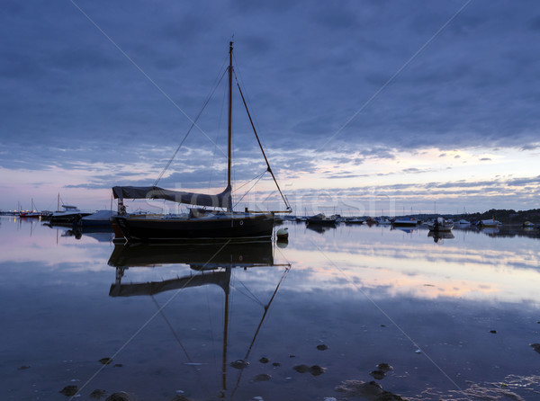 Stock photo: Boats in Poole Harbour