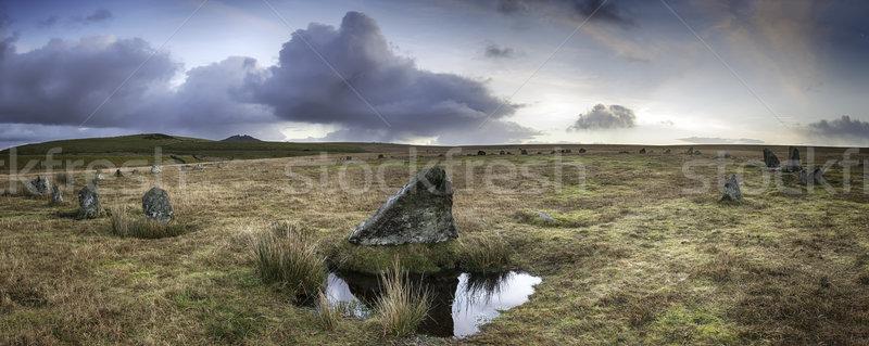 Stannon Stone Circle Stock photo © flotsom