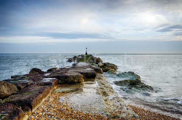 Sea Groyne Stock photo © flotsom