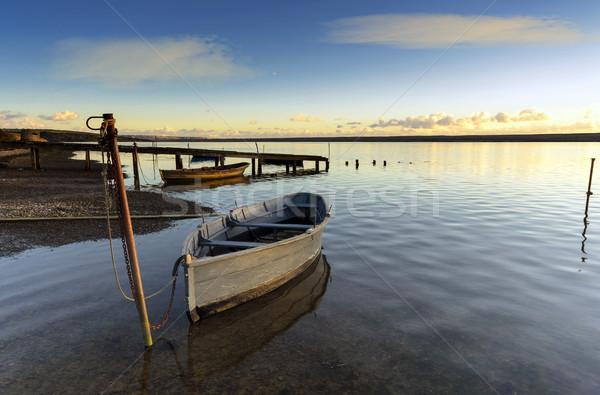 лодках флот пляж воды морем океана Сток-фото © flotsom