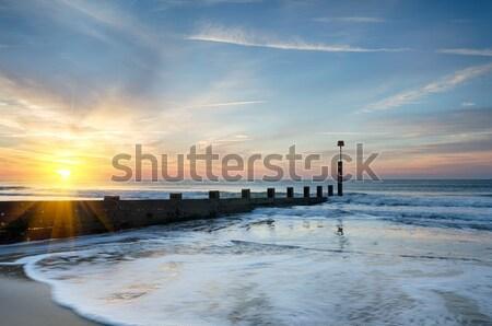 Stock photo: Bournemouth Beach