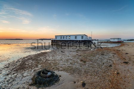 House Boats in Poole Harbour Stock photo © flotsom